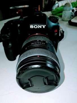 Vendo Cámara Sony Alpha 77