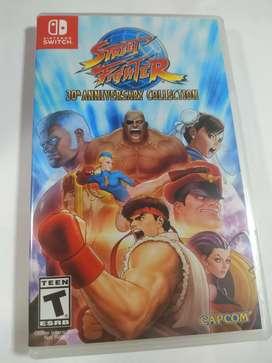 Street fighter 30 aniversario Nintendo switch