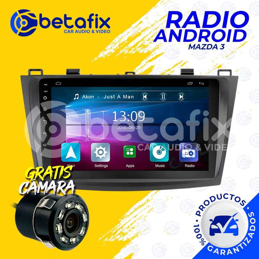 RADIO ANDROID PARA MAZDA 3 2010 UP GPS BT USB WIFI BETAFIX DESDE 0
