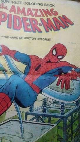 PIURA: Gran Separata de SPIDERMAN para colorear.