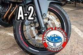 Pase para moto categoria A2 Jamundi Cali (Bayron Quintero)