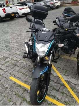 Gixxer 150 cc 2018 negro mate