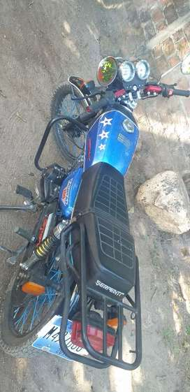 150 cc Taypan modificada