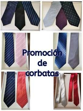 Corbatas en promoción