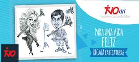 """""""TinoArt"""" Caricaturas Profesionales  en Blanco y Negro   Lima-Perú (100% Personalizadas)"""