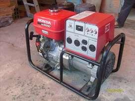 planta o generador de energia marca HONDA