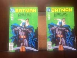 BATMAN PASOS  COMICS