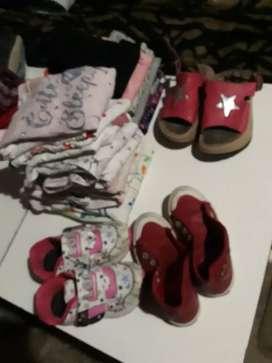 Combo de ropa para nena