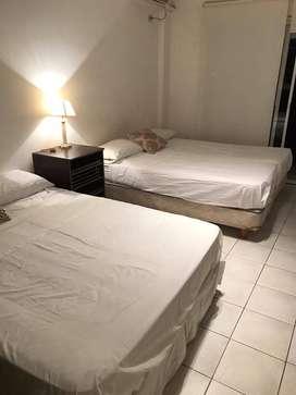 alquilo dueño en villa crespo 2/4/6 juan b justo y av corrientes  .wi fi balcon solarium 2/4/5 personas