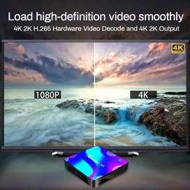 Tv box X88 Pro 4 GB de ram y 32 de rom