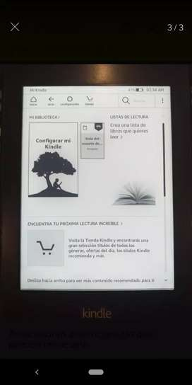 Kindle Paperwhite 7ma generación+estuche y cable