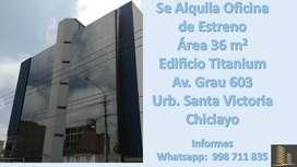 ALQUILER OFICINA DE ESTRENO