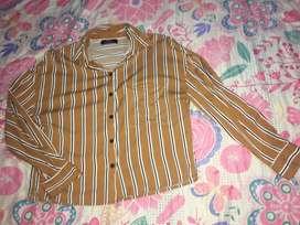 Blusa camisa bershka