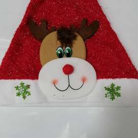 Maracas y gorros navideños