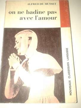 On Ne Badine Pas Avec L'amour. (frances)A de Musset