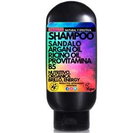 Shampoo Sandalo / Argan, Natural Y Efectiva 8.8 Oz / 250 Ml