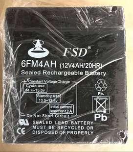 Batería Recargable. FSD 6fm4ah