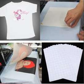 Venta de papel transfer tela color claro