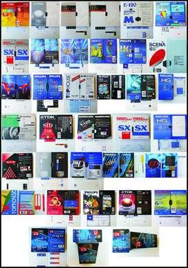 VIDEO CASSETTE VHS EN EXCELENTE ESTADO - CASI NUEVOS (593 unidades))