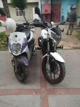 Se alquila motocicleta dinamik