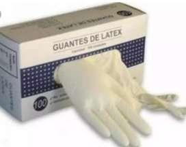 Vendo guantes de látex