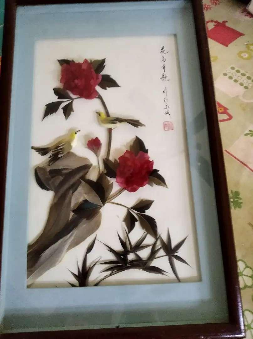 Antiguo cuadro chino