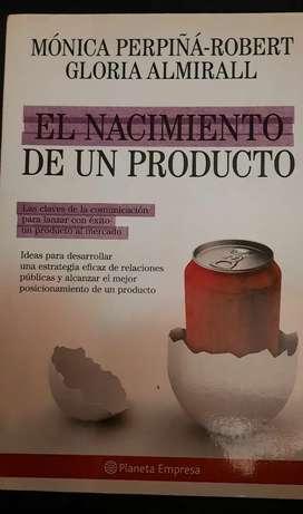 Libro: Nacimiento de un producto