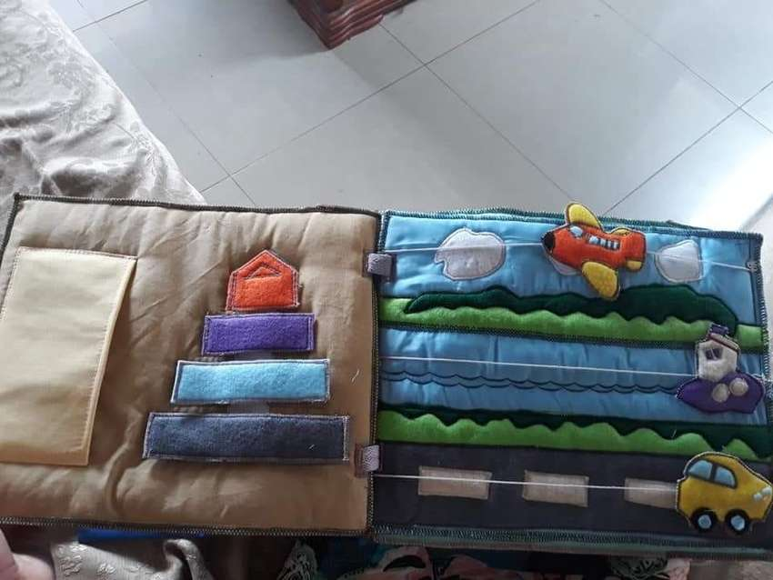 Libros sensoriales y de texturas para niños 0