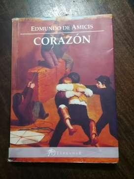 """Libro """"Corazón"""". Edición: Terramar"""