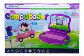 Computador didáctico niña
