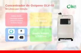 Concentrador De Oxigeno Olive Doble Flujo - Alquiler