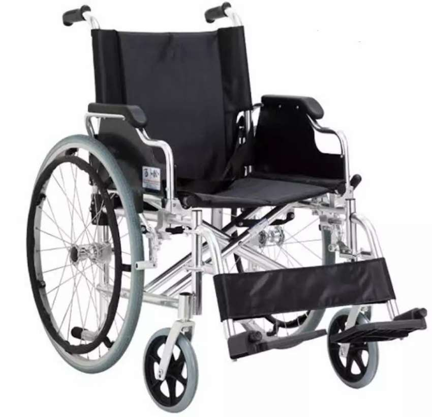 Silla de ruedas aluminio Total!!