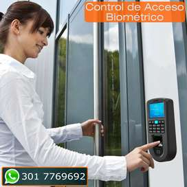 Control de Acceso Biométrico por huella dactilar. Cali.