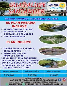 TOUR PASADIA GUADALUPE LAS GACHAS DOMINGO 19 DE ENERO