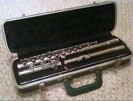 Flauta Bundy Selmer Elkhart