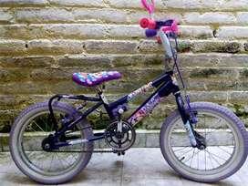 Bicicleta para Niña 3-6 años de edad.