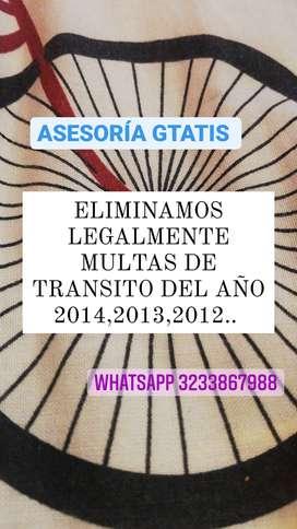 ELIMINAMOS LEGALMENTE MULTAS TRANSITO