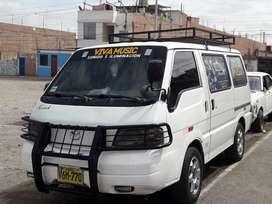 Combi Mazda Bongo Panel + 6 pasajeros