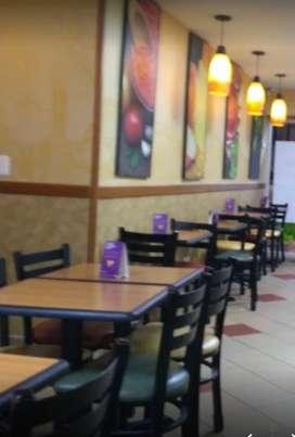 Se requiere personal para restaurante de Comida Rápida Saludable