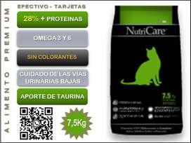 NutriCare Gatos 7,5Kg.