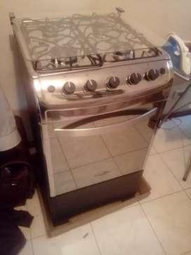 Estufa a gas con horno nueva