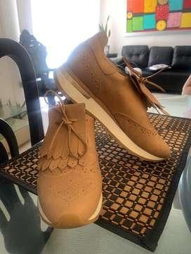 Vendo zapatos velez de cuero