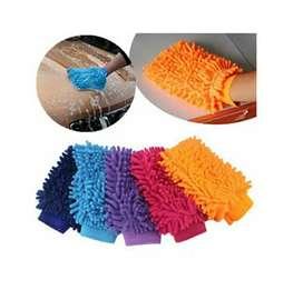 2 Guantes De Limpieza En Microfibra Para Todo Tipo De Lavado