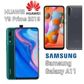 Samsung Galaxy A11, Huawei Y9 Prime