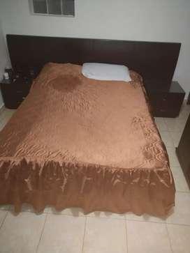 Vendo cama y closet