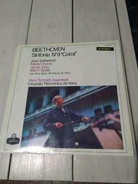 Lp Vinilo Beethoven Sinfonia 9 Coral (Ver DESCUENTOS)