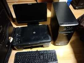 Se vende computador  de mesa y impresora