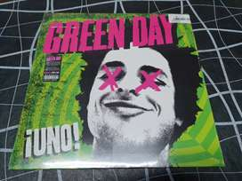 Vinilo LP Green Day Uno - Nuevo Sellado