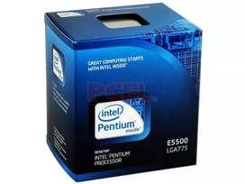Intel E5500 colección nuevo (caja cerrada)