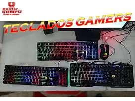Ofertas Únicas¡¡¡ Teclados Gamers Genius/Quasadf/Ins Rgv teclado español